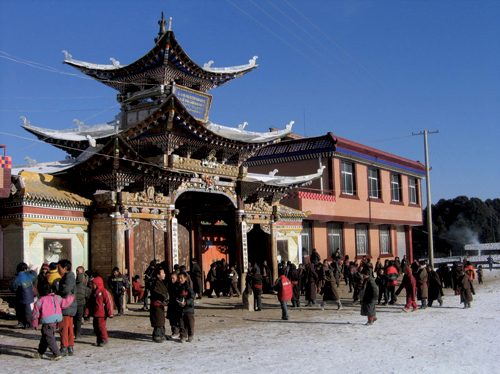 Chinese authorities closed down Taktsang Lhamo Kirti Monastery's school in Ngaba, on 8th April 2008. The primary reason for its closure was cited as participation by a number of its monks in peaceful protest on 15th March 2008