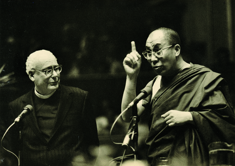 "His Holiness the Dalai Lama speaking on ""Peace of Mind - Peace in Action"" at Royal Albert Hall, London, 5 July 1984"