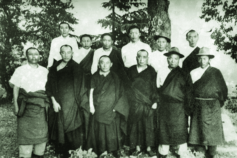 Members of the first Association of Tibetan Peoples Deputy (ATPD), now Tibetan Parliament-in-Exile, (TPIE) 2nd Sept 1960 to 19th Feb 1964