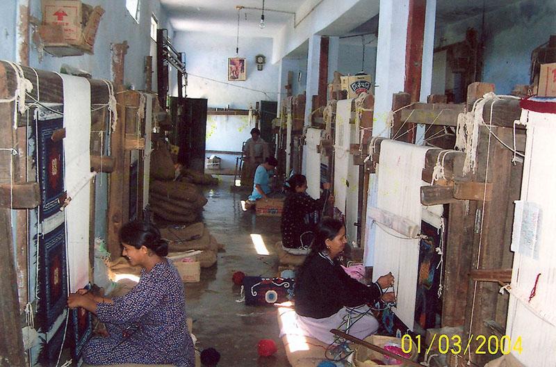Carpet Weaving Centre at Kumrao Tibetan Settlement, Sirmour, H.P