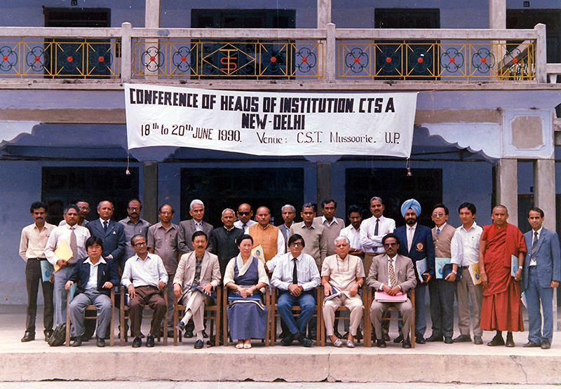 Conference of institutional heads of Central Tibetan Schools Administration (CTSA), Mussoorie, 18-20th June 1990