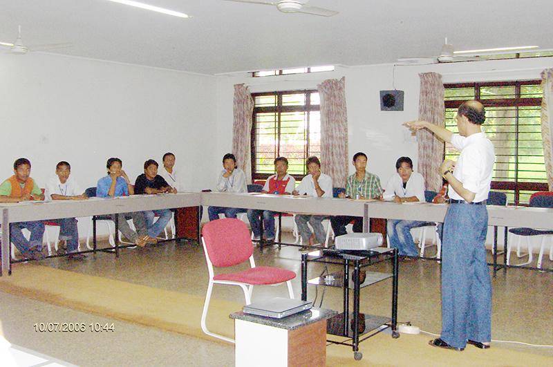 Second Entrepreneurship Training in Dharwad, Karnataka, from 10-19 July 2006