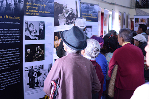 Remembering their hardship and struggle through photographs