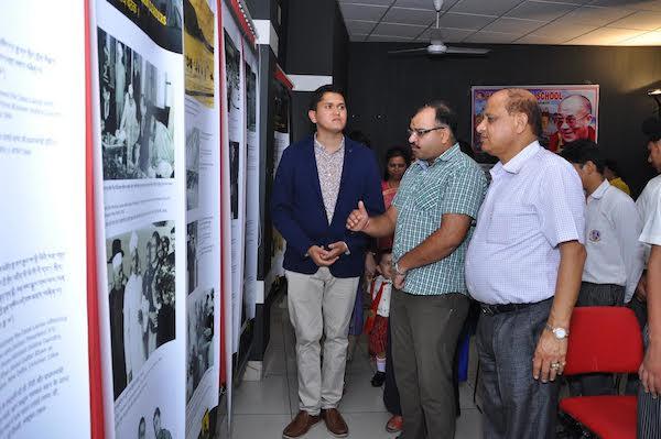 Dr Amit Mahajan ji, SDM of Pathankot at the last day exhibition at Pathankot. Dr Amit Mahajan ji, SDM of Pathankot at the last day exhibition at Pathankot.