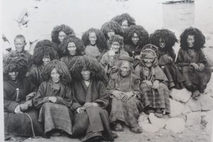 photograph captured during Young Husband's military expedition to Lhasa in 1904.